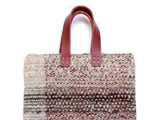 手織りbag